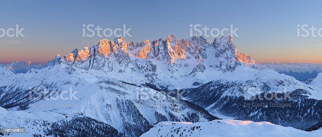 Pale Di San Martino (Dolomtes - Italy) stock photo