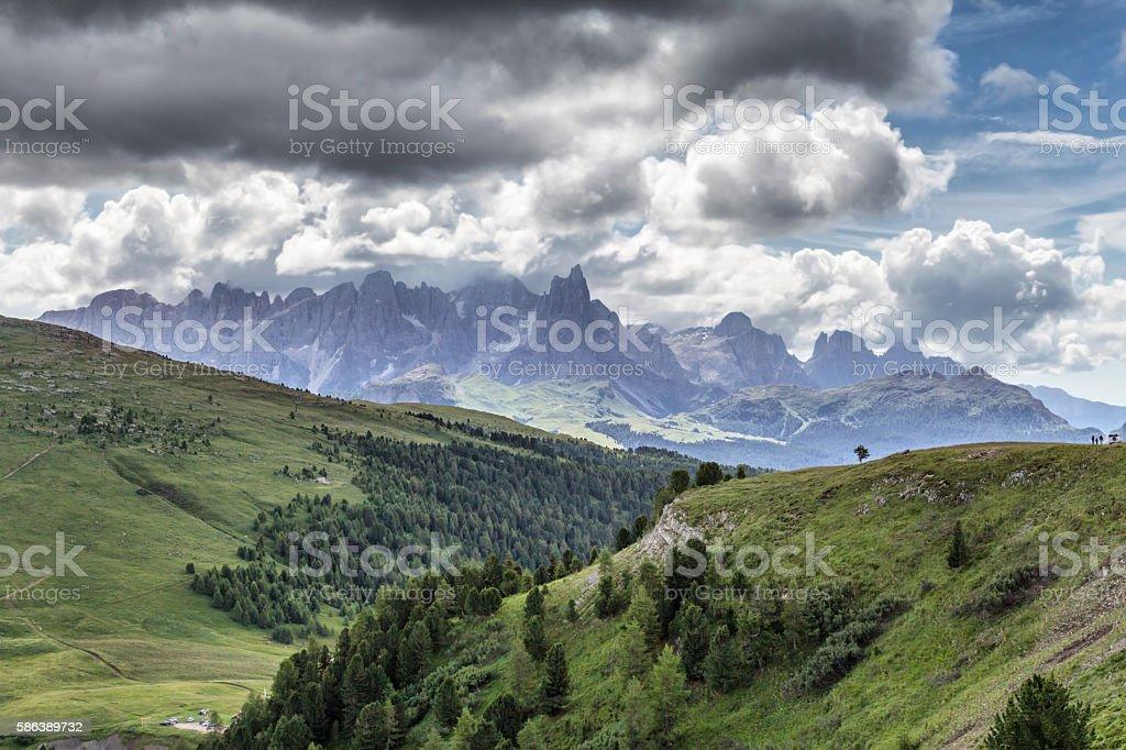 Pale di San Martino - Trentino Alto Adige - Italy stock photo