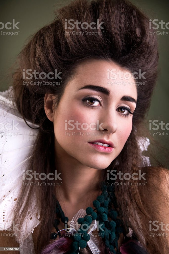 Pale Queen royalty-free stock photo