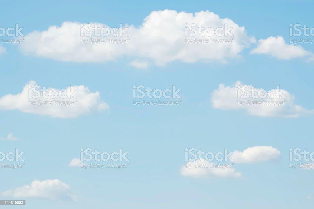 Pale Sky Backdrop royalty-free stock photo