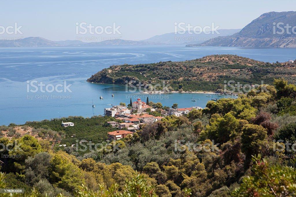 Palea Epidauros, Greece (XXXL) royalty-free stock photo
