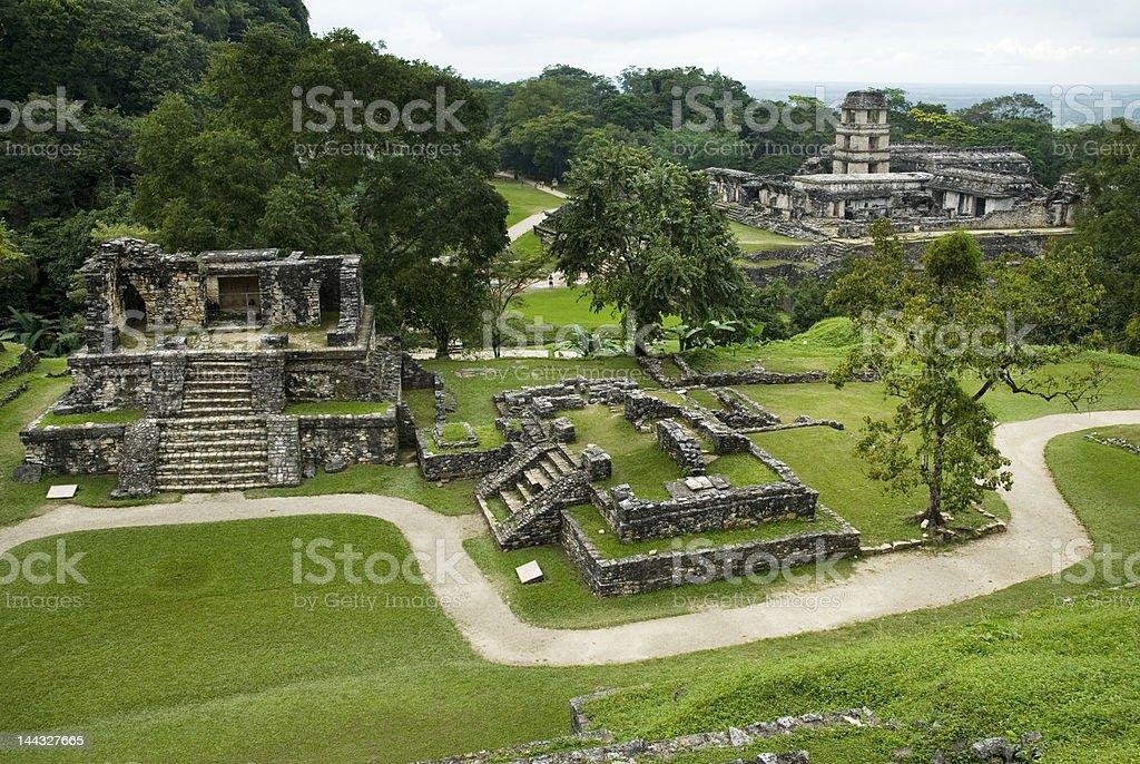 Palenque Mexico stock photo