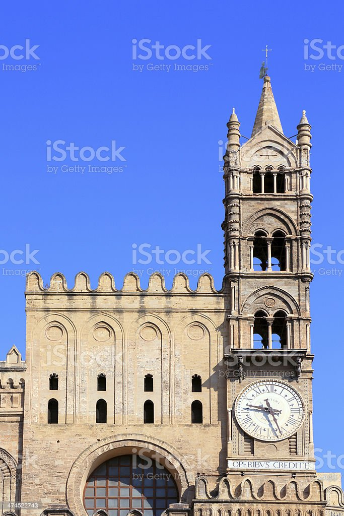 Palermo Cathedral royalty-free stock photo