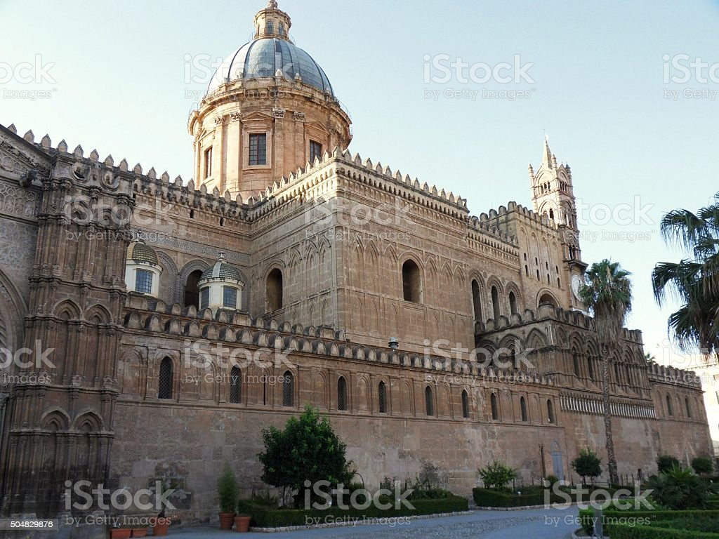 Cattedrale di Palermo stock photo
