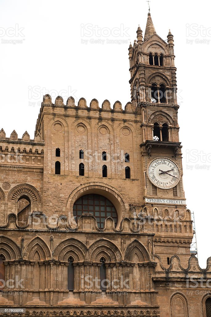 Palermo Cathedral , Sicily Italy stock photo