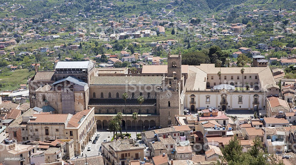 Palermo - Monreale cathedral royalty-free stock photo