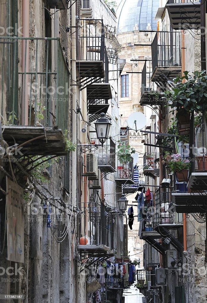 palermo's street royalty-free stock photo