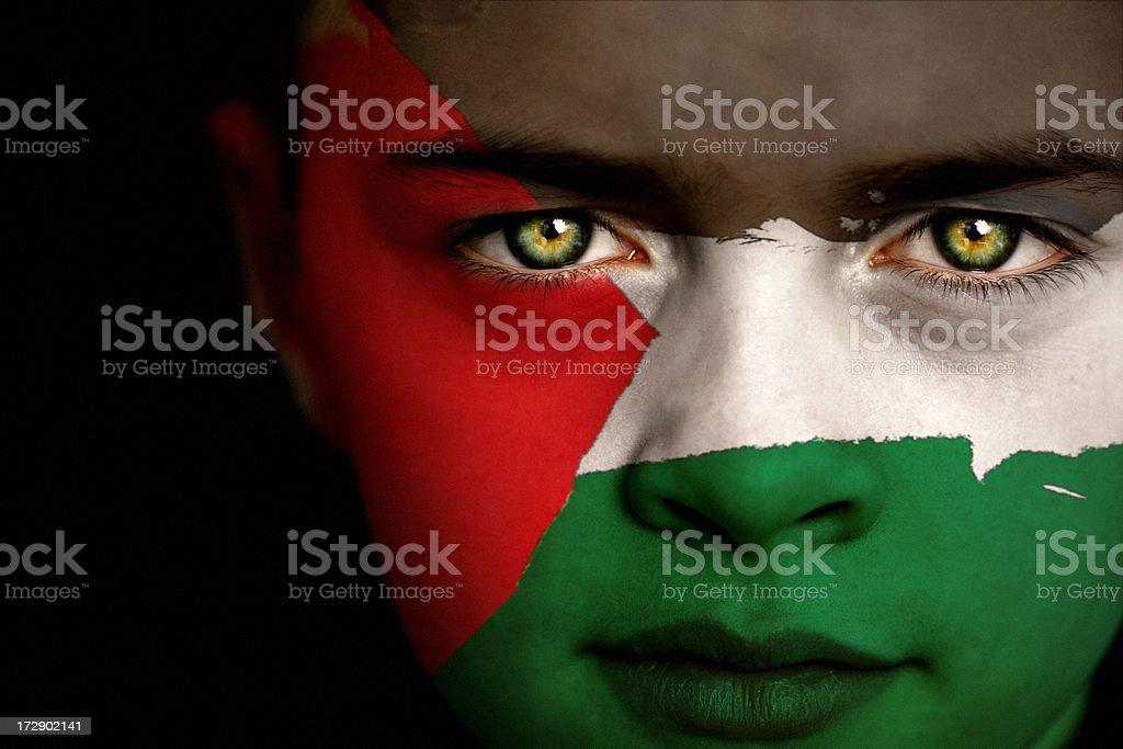 Palestine boy royalty-free stock photo