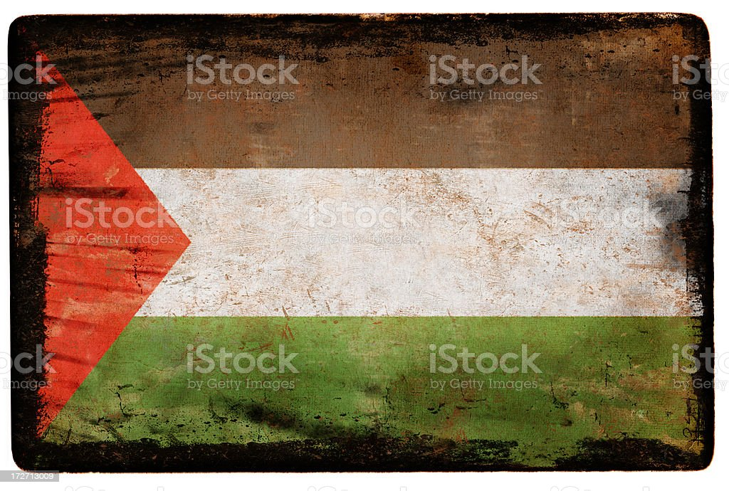Palestine Flag XXL royalty-free stock photo