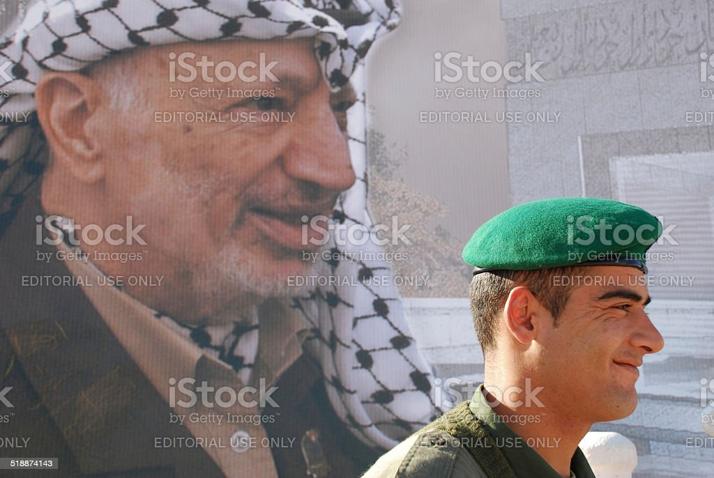 Palestinian faces stock photo