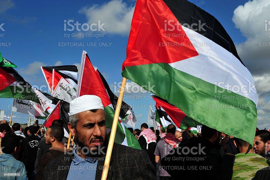 Palestinian People in Israel stock photo