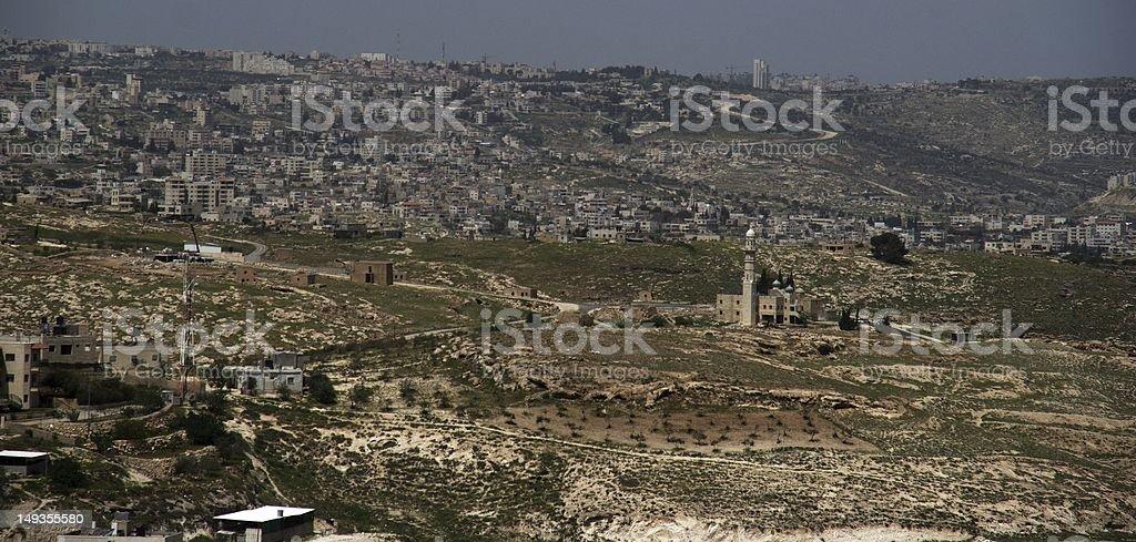 Palestinian villages stock photo