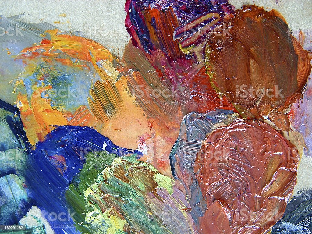 palette colours royalty-free stock photo