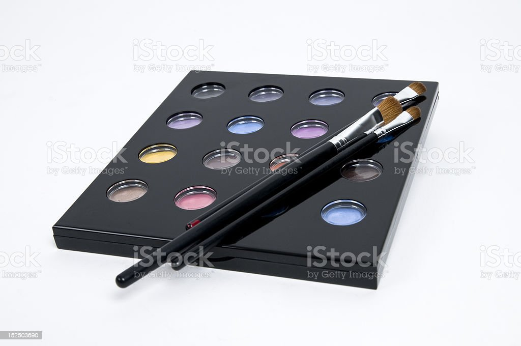 Palette of shadows stock photo