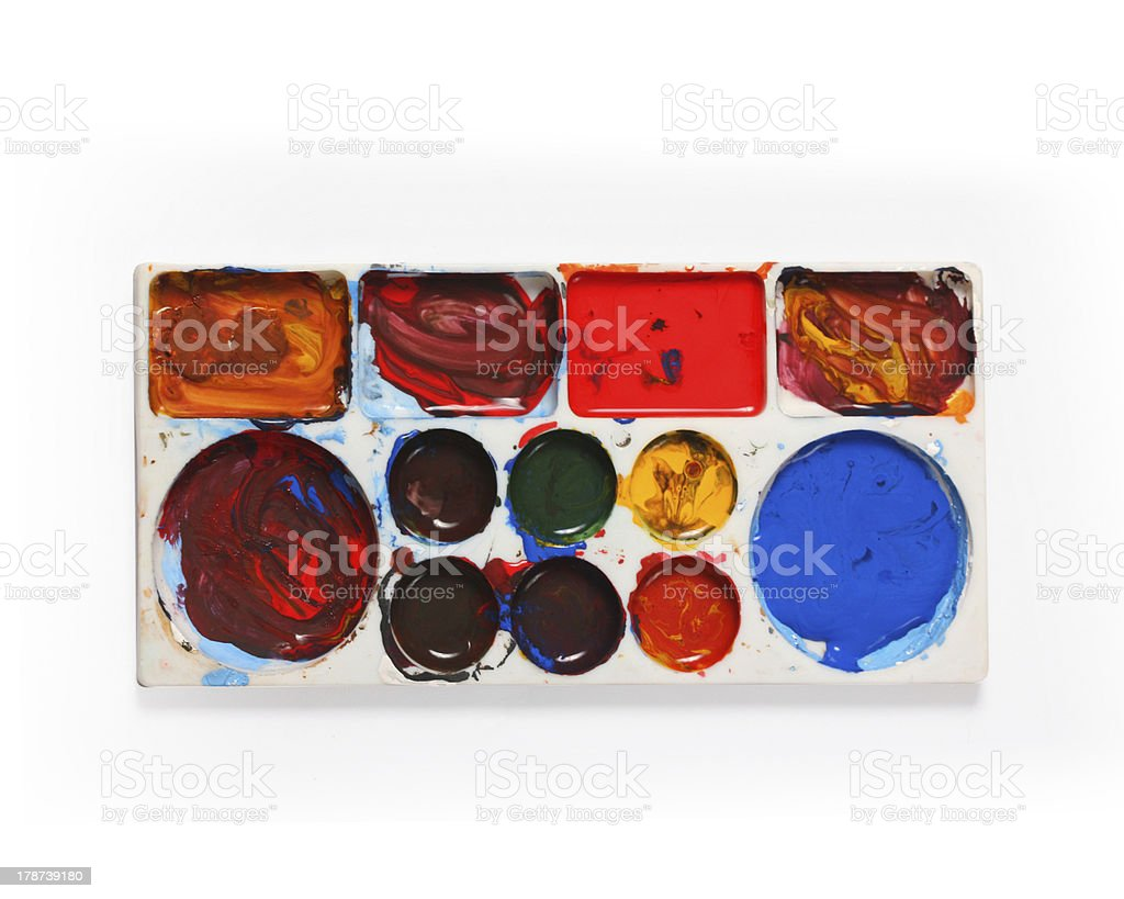palette royalty-free stock photo