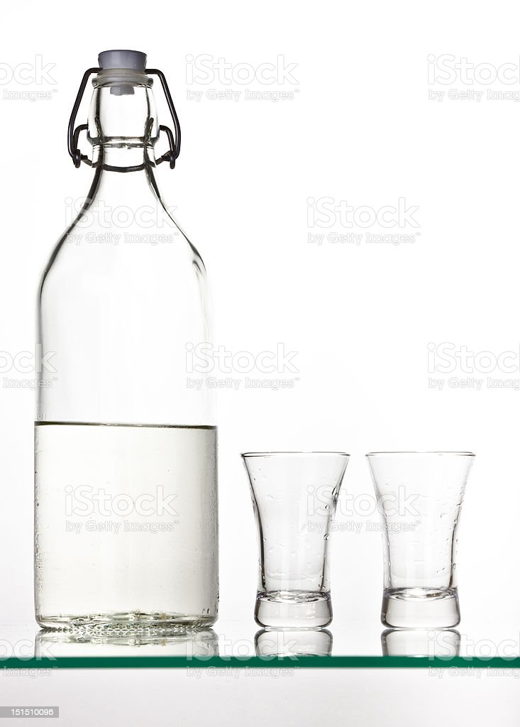 Palinka royalty-free stock photo