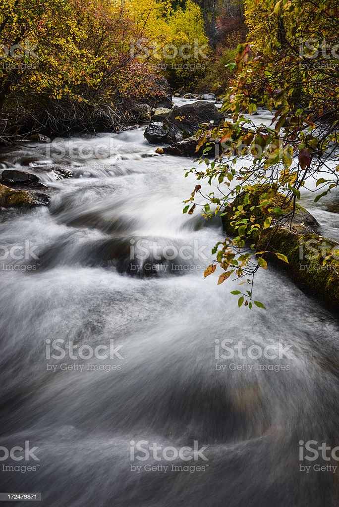 Palisades Creek, Idaho royalty-free stock photo