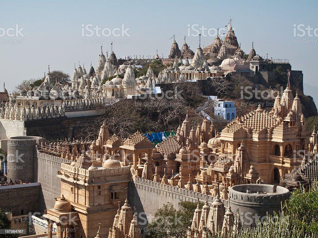 Palitana, India royalty-free stock photo