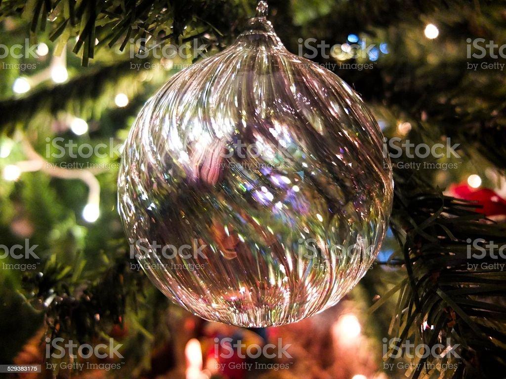 palla di natale stock photo