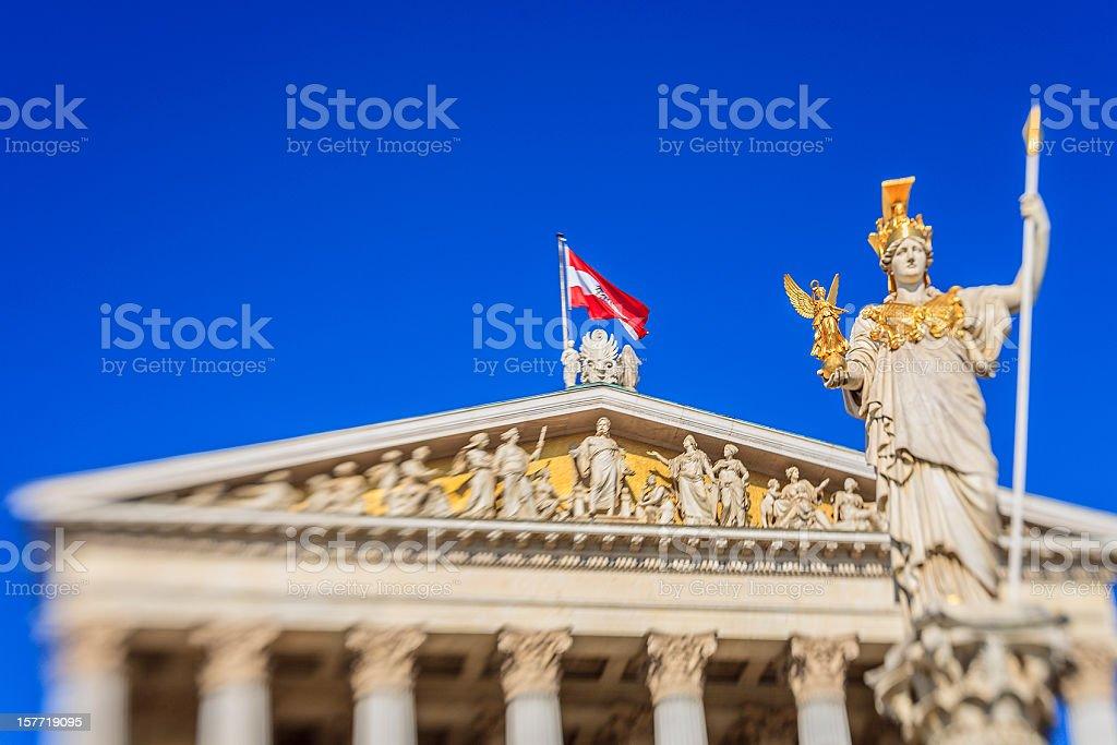Pallas-Athene-Brunnen, Wien royalty-free stock photo