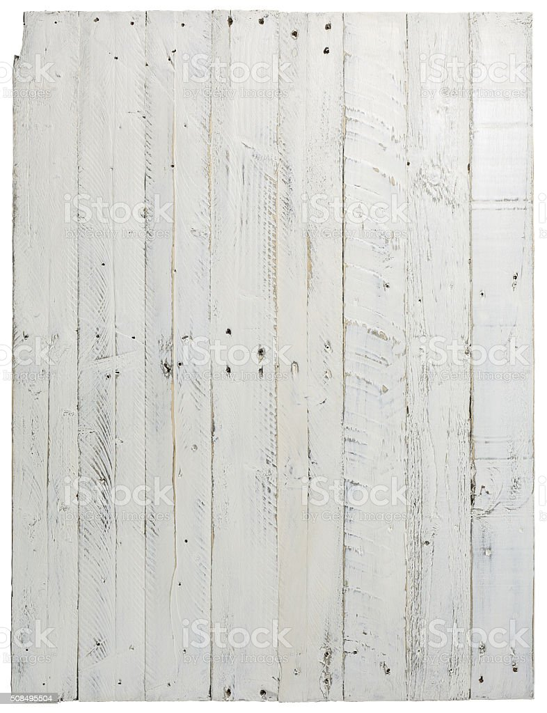 Pallet Wood Painted Background Texture Old Grey With Nail Holes stock photo