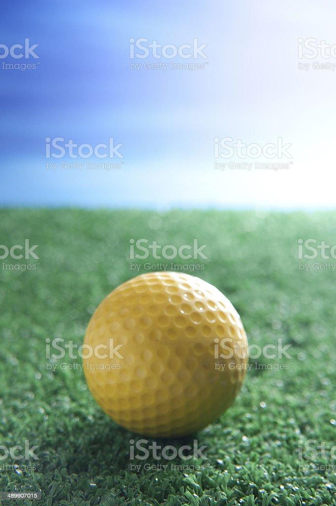 Pallina da Golf stock photo
