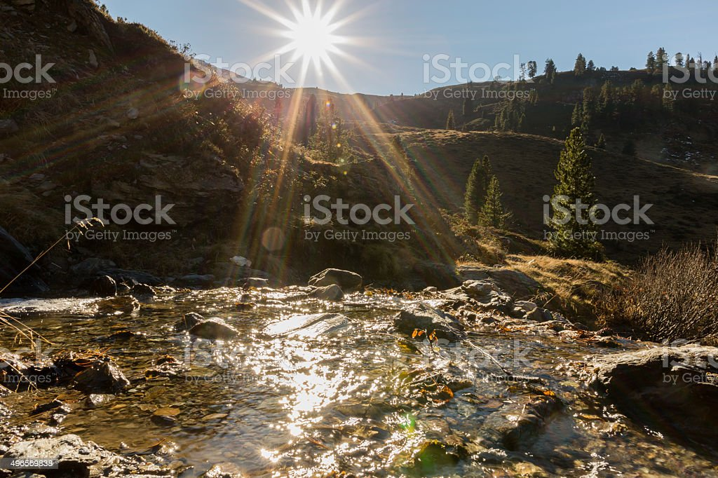 Pallspitze 2389 stock photo