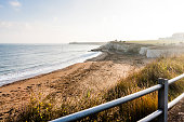 Palm bay beach in-between Margate and Broadstairs, Thanet, Kent, England