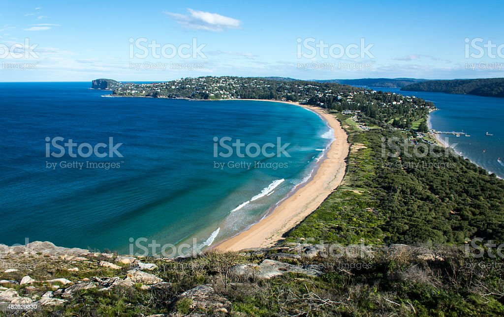 Palm Beach, Australia stock photo