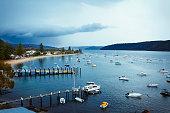 Palm Beach ferry wharf in Australia
