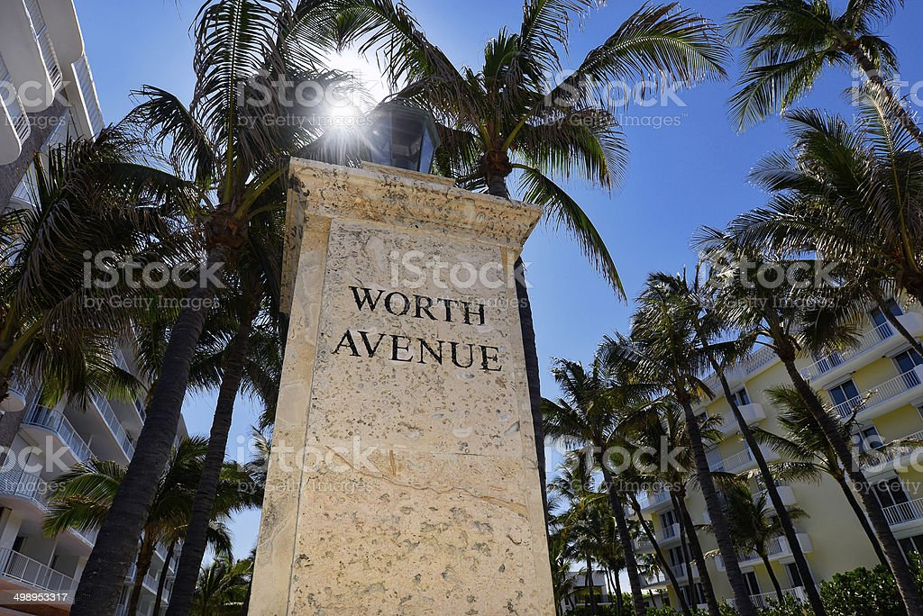 Palm Beach stock photo