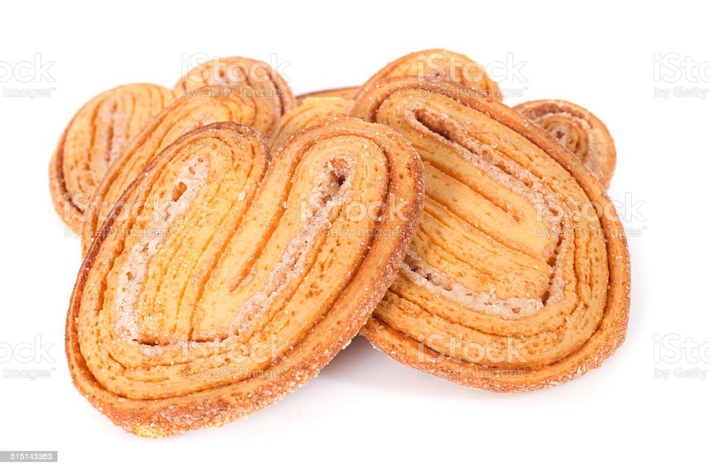 palmier cake stock photo