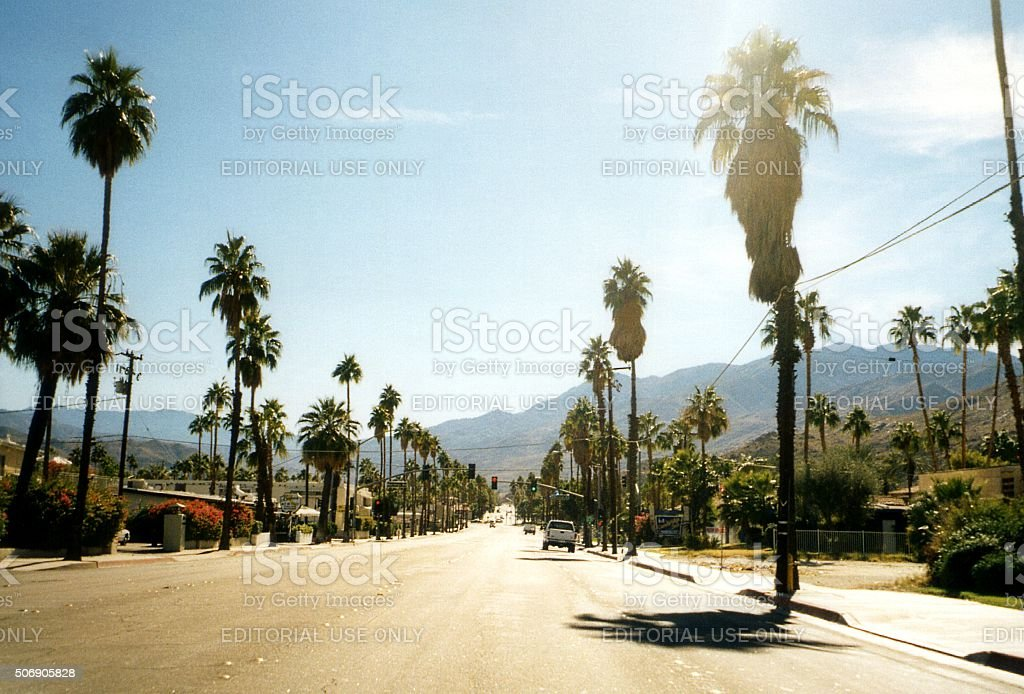 Palm Desert, California stock photo
