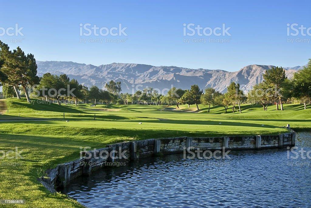 Palm Desert Golf Resort stock photo
