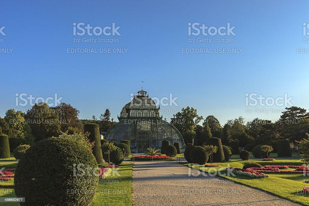 Palm House, Schönbrunn Palace, Vienna royalty-free stock photo