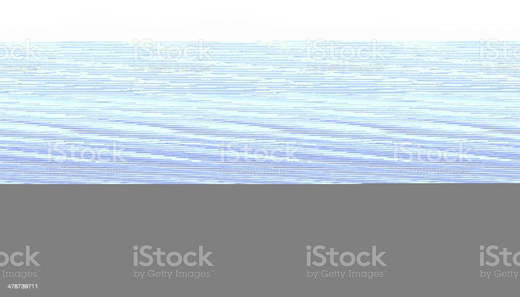Palm Leaf Up Close stock photo
