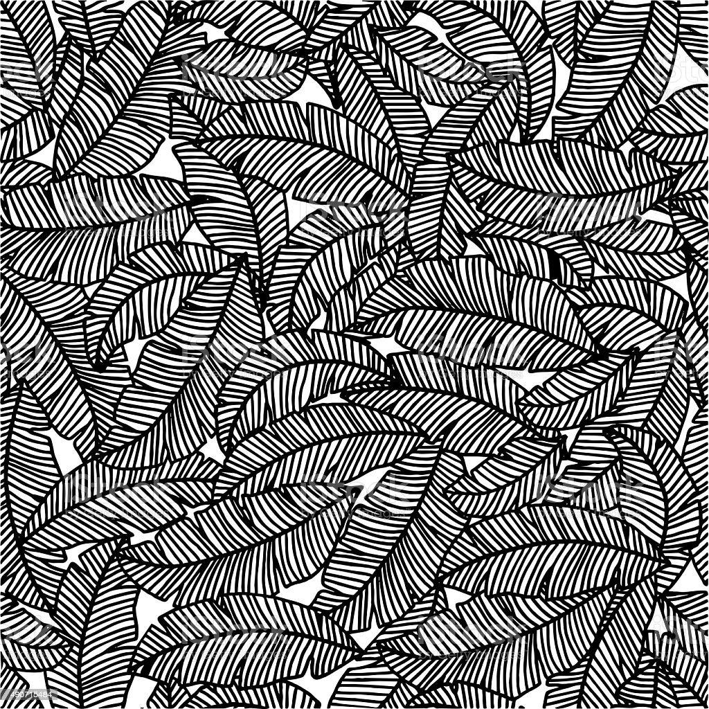 palm pattern stock photo