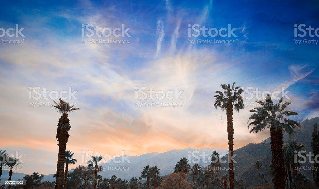 Palm Springs, California, USA stock photo