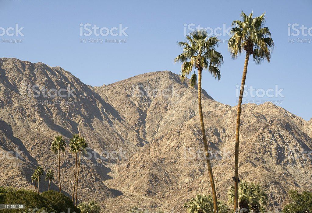 Palm Springs in California, USA stock photo