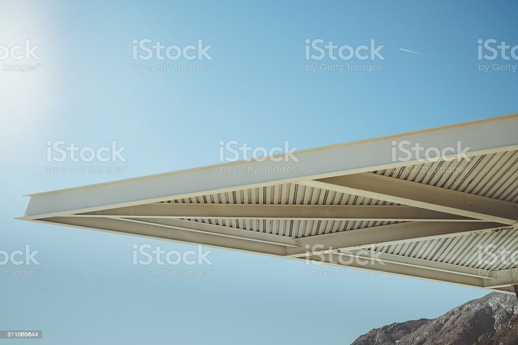 Palm Springs Modern Architecture Element stock photo
