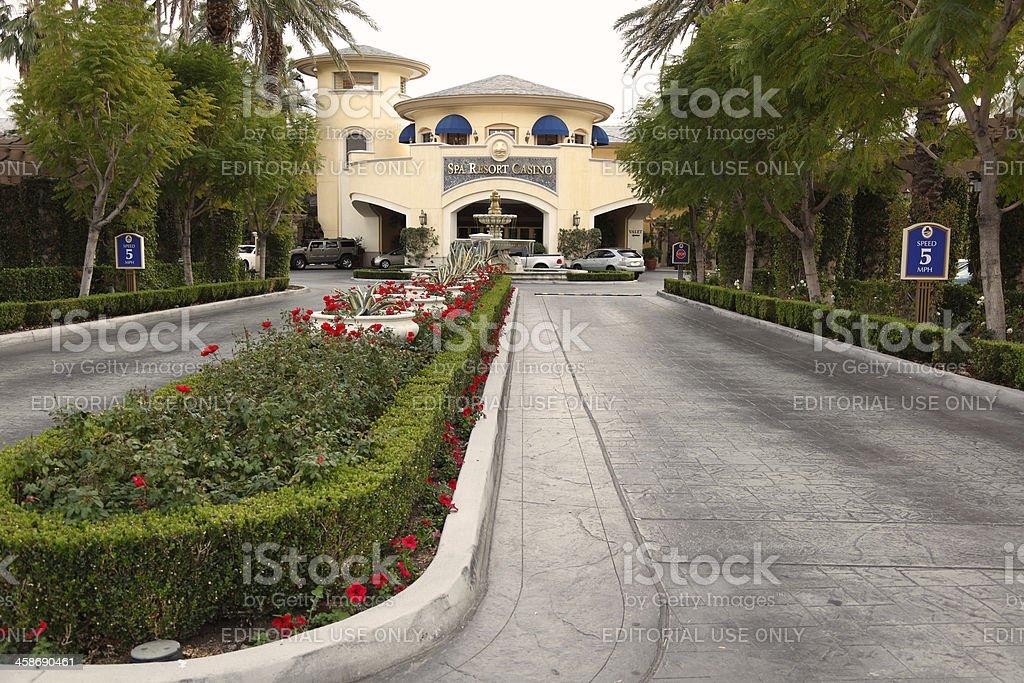 Palm Springs Spa Resort Casino royalty-free stock photo