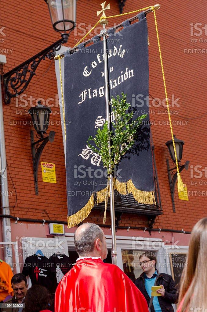 Palm Sunday, religious banner. stock photo