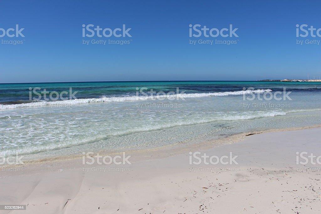 palma de majorque - beach stock photo