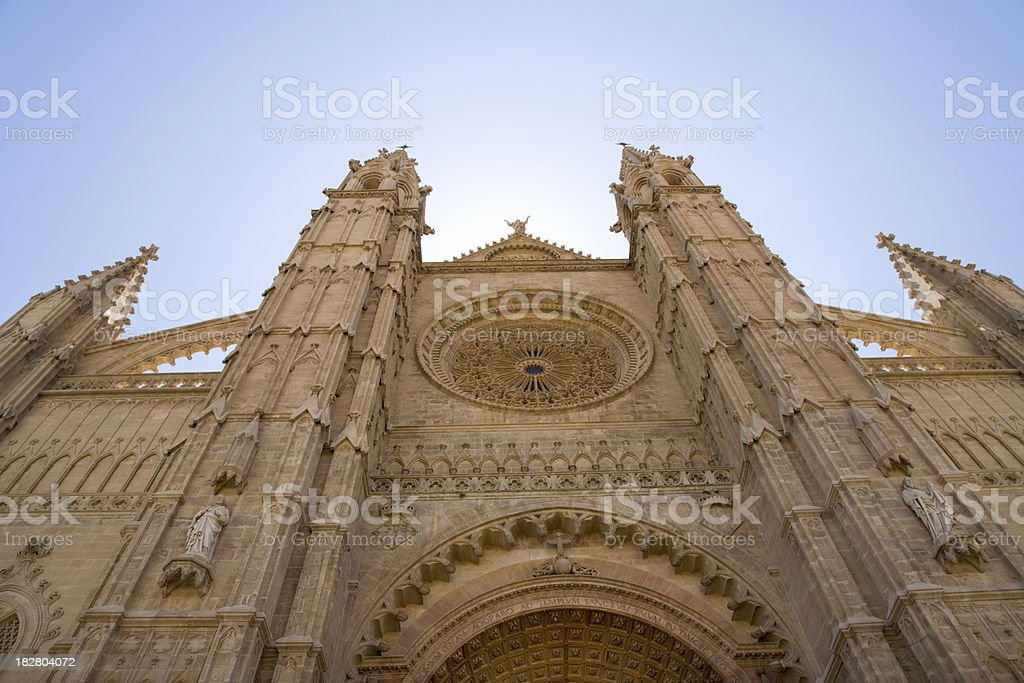 Palma de Mallorca Cathedrale La Seu royalty-free stock photo
