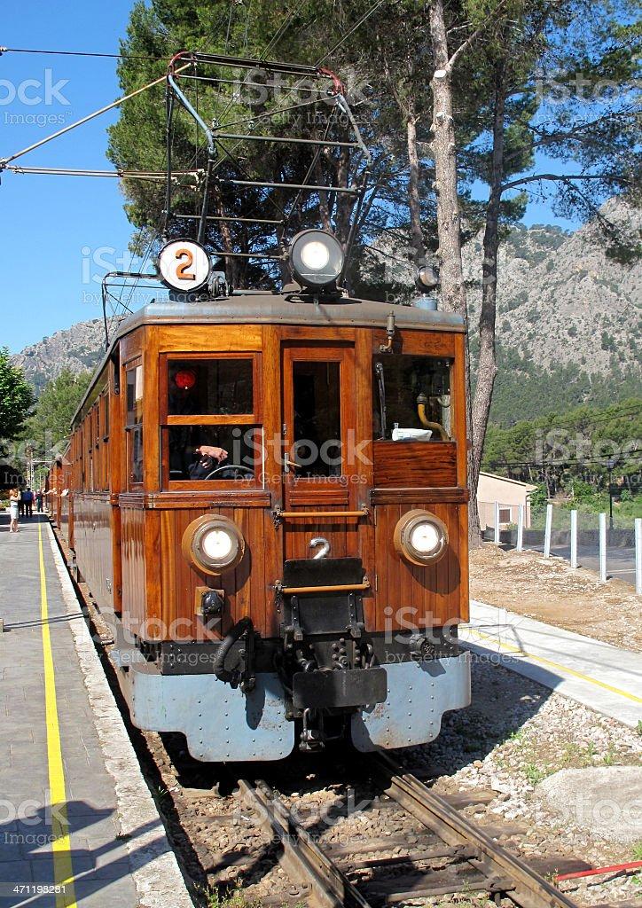 Palma to Soller Train stock photo