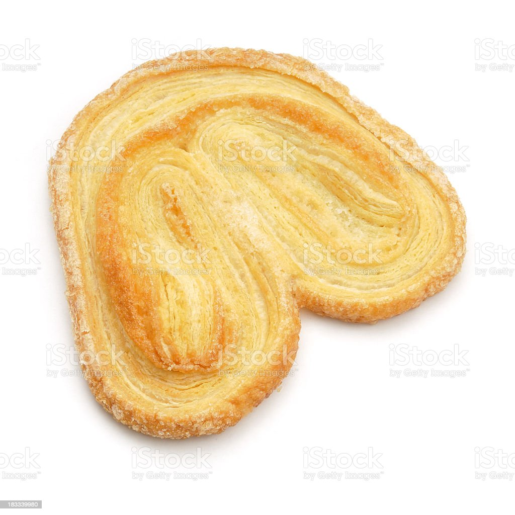 Palmier from above stock photo