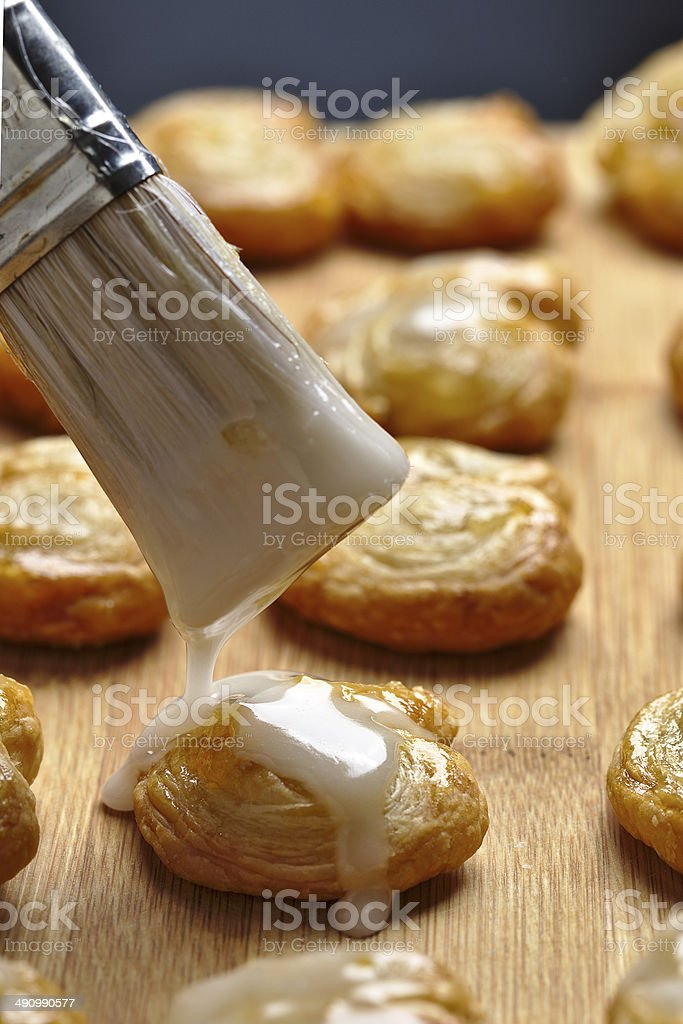 Palmier pastry royalty-free stock photo