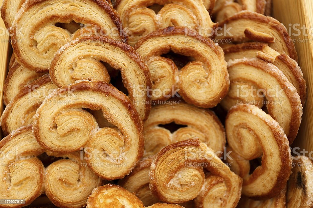 Palmier with Caramel stock photo
