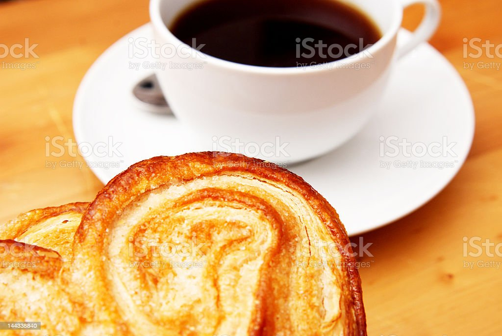 Palmier with coffee stock photo