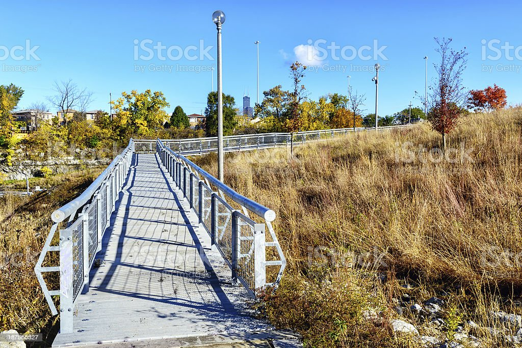 Palmisano Park,  Bridgeport, Chicago royalty-free stock photo